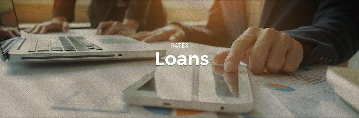 banner for rate loans page