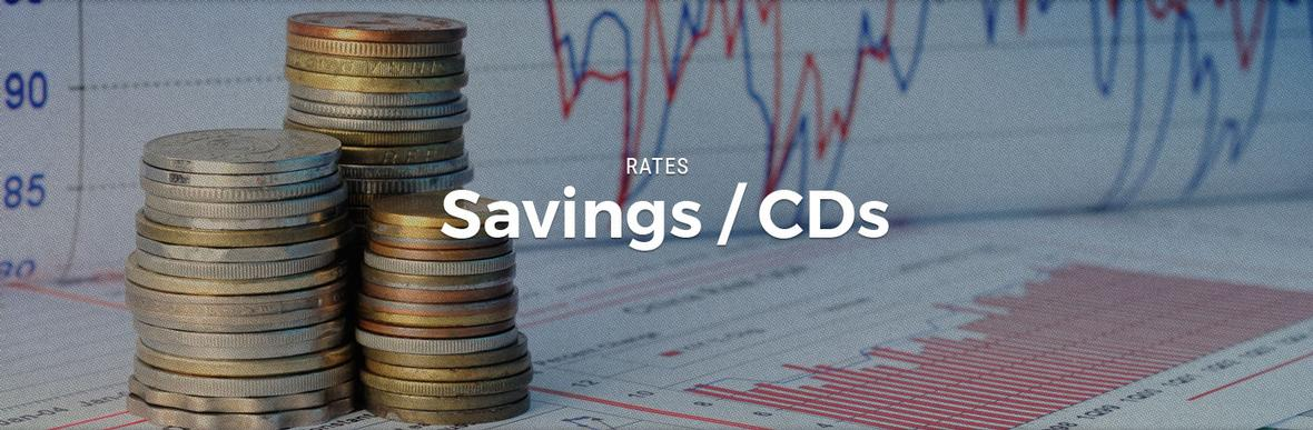 Graphic banner for Central Federal Savings and Loan Savings/CDs page