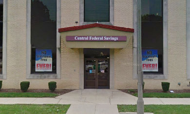 Picture of the Berwyn, Illinois location of Central Federal Savings and Loans