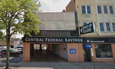Picture of the Cicero, Illinois Location of Central Federal Savings and Loan