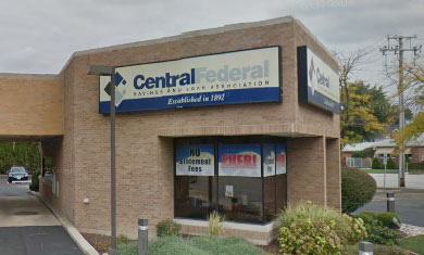 Picture of the LaGrange location of Central Federal Savings and Loan